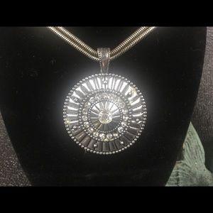 Chicos vintage medallion necklace.